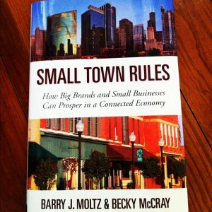 Andrea Cook's copy of Small Town Rules