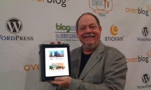 Bob Dunn got his copy of Small Town Rules on iPad