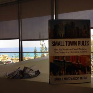 Dustin Luther's reading Small Town Rules in Malibu