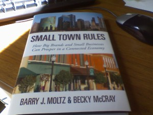 Jon Swanson is reading Small Town Rules in Indiana
