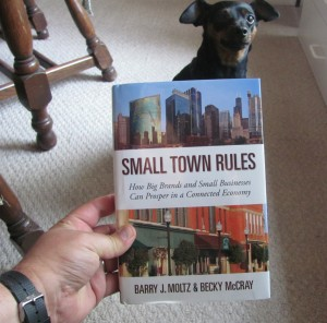 Steven Streight's copy of Small Town Rules