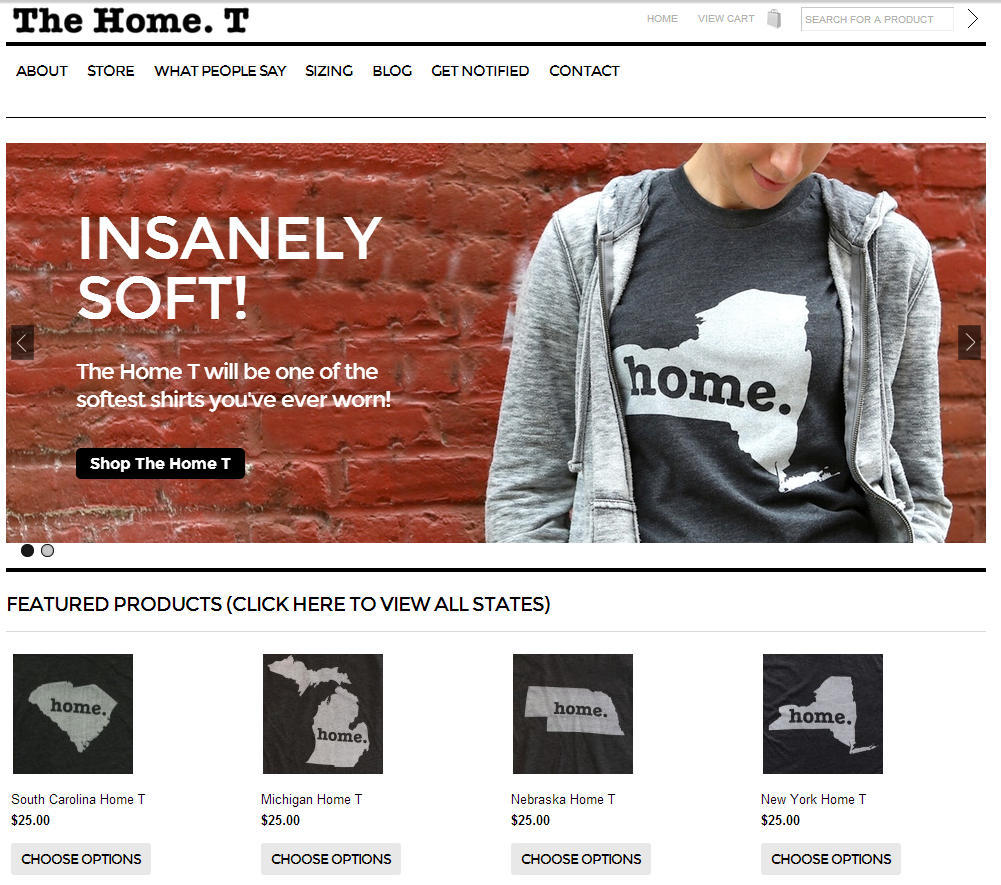 The Home T - localized t shirts